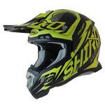 _Shiro MX-917 Thunder Helmet Yellow Fluor XS | 977-04-XS | Greenland MX_