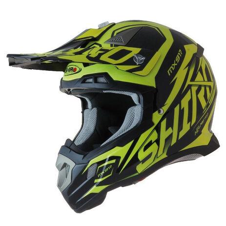 _Shiro MX-917 Thunder Helmet Yellow Fluor | 977-04 | Greenland MX_
