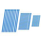 _Juego Bridas 4MX Azul | 4MX-ZT-BL | Greenland MX_
