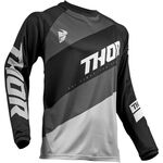 _Jersey Thor Sector Shear Negro | 2910-4889-P | Greenland MX_
