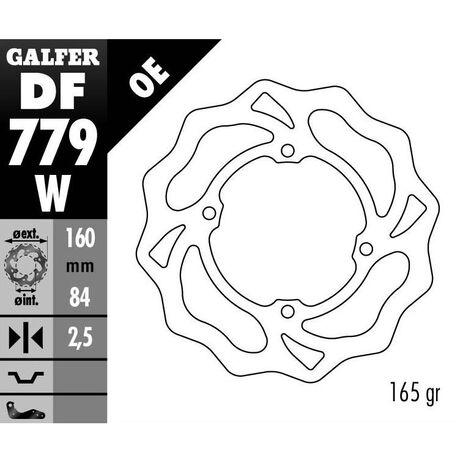 _Disque de Frein Avant Galfer Wave KTM SX 50 06-.. | DF779W | Greenland MX_