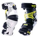 _Mobius X8  Knee Brace Pair White/Fluor | MBX8101010P | Greenland MX_