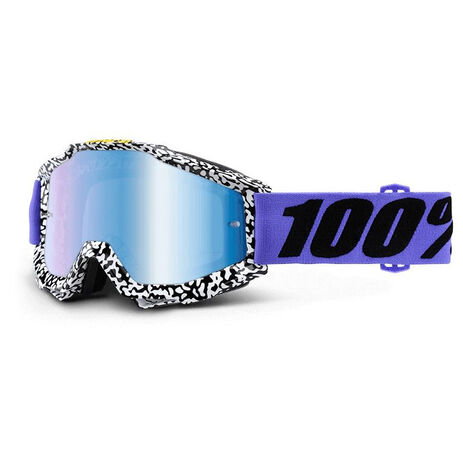 _100% Accuri Brentwood Mirror Blue Goggles | 50210-211-02 | Greenland MX_