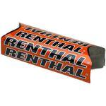 _Renthal Fat Bar Team Issue Square Handlebar Pad Orange | P276-P | Greenland MX_