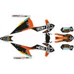 _KTM EXC/EXC-F 2020 Full Sticker Kit WESS | SK-KTEXC20WSORBK-P | Greenland MX_