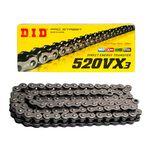 _DID VX3 520 ZB 118 Links O'Ring Chain | CD520VX3BL118ZJ-P | Greenland MX_