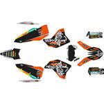 _KTM EXC/EXC-F 08-11 Full Sticker Kit WESS | SK-KTEXC0811WSORBK-P | Greenland MX_