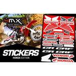 _Adhesivos Variados 4MX Honda | 01KITA606H | Greenland MX_