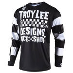 _Maglia Troy Lee Designs Race Shop 500 Nero | 307667000 | Greenland MX_