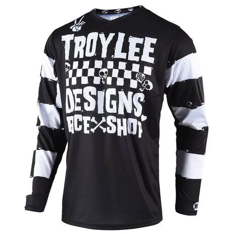 _Troy Lee Designs Race Shop 500 Jersey Black | 307667000 | Greenland MX_