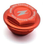_Zeta KTM 125-530 04-.. Rear Brake Reservoir Cover Orange | ZE86-7110 | Greenland MX_