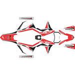_Honda CRF 250/300/450/500 X 19-20 Full Sticker Kit | SK-CRFX1920RDWTBK-P | Greenland MX_