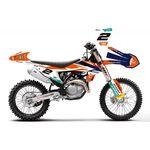_KTM SX/SX-F 16-18 EXC 17-.. Factory Full Sticker Kit | SK-KT17FA19-P | Greenland MX_