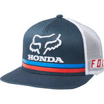 _Fox Honda Snapback Hat Navy   22996-007   Greenland MX_