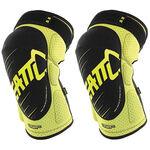 _Leatt 3DF 5.0 Knee Guards Lime/Black | LB501610043P | Greenland MX_