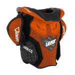 _Leatt Fusion 2.0 Youth Neck Support Orange/Black | LB101401000P | Greenland MX_