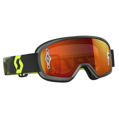 _Scott Buzz MX Goggles Grey/Yellow Fluor | 246435-GRFY-OCW | Greenland MX_