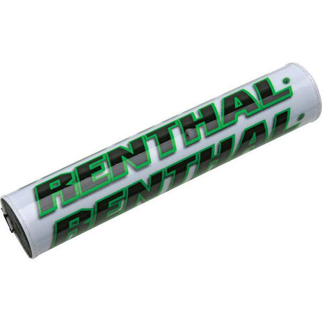 _Renthal square handlebar pad white/green | P267 | Greenland MX_