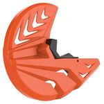 _Protector Disco Delantero y Pie de Horquilla Polisport KTM SX/SX-F 03-14 EXC/EXC-F 03-15 | 8151500003 | Greenland MX_