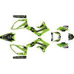 _Kit Adhesivos Completo Kawasaki KX 250 F 13-16 Green Edition | SK-KX250F1316GR-P | Greenland MX_