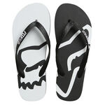 _Fox Beached Beach Sandals Black/White | 22142-018-P | Greenland MX_