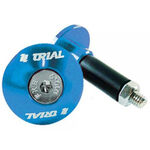_Jitsie handlebar ends trial 14-17 mm blue | JI-TLBAR-BL | Greenland MX_