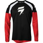 _Shift Whit3 Label Race Jersey Black/Red | 24128-017 | Greenland MX_