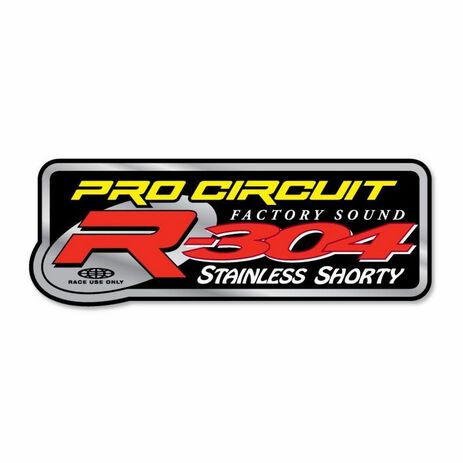 _Pro Circuit R-304 Silencer Decal | DCR304 | Greenland MX_