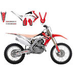 _Kit Autocollants Blackbird Linear Honda CRF 250 R 14-17 CRF 450 R 13-16 | 2145 | Greenland MX_