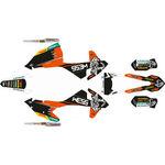 _KTM EXC/EXC-F 17-19 Full Sticker Kit WESS | SK-KTEXC1719WSBKOR-P | Greenland MX_