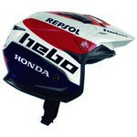 _Hebo Trial Zone 5 Air Montesa Team III Helmet | HC1159B-P | Greenland MX_