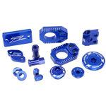_Zeta Racing Yamaha WR 250 R/X 07-17 Aluminum Accessories Kit Blue | ZE51-2386 | Greenland MX_